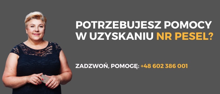 PESEL dla cudzoziemca w Polsce